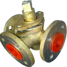 Non-Lubricating Plug Valve Two Way And Three Way